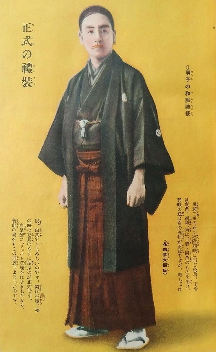いきな着様を求めて\u2014明治・大正の男性の和装から考える|オト吉