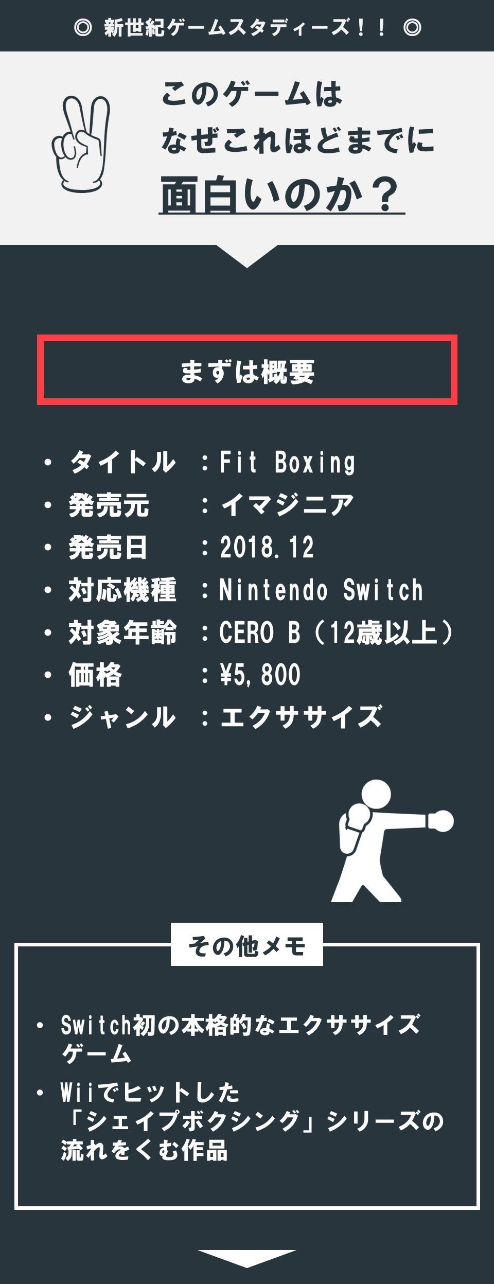 Nintendo Switch】エクササイズゲームで、モチベーションの維持