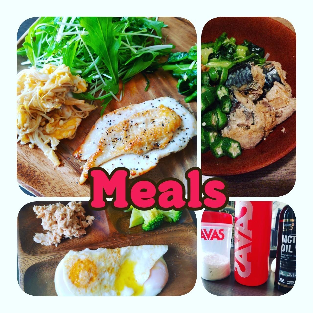 ケトジェニックダイエット(スーパー糖質制限)、1週間の食事
