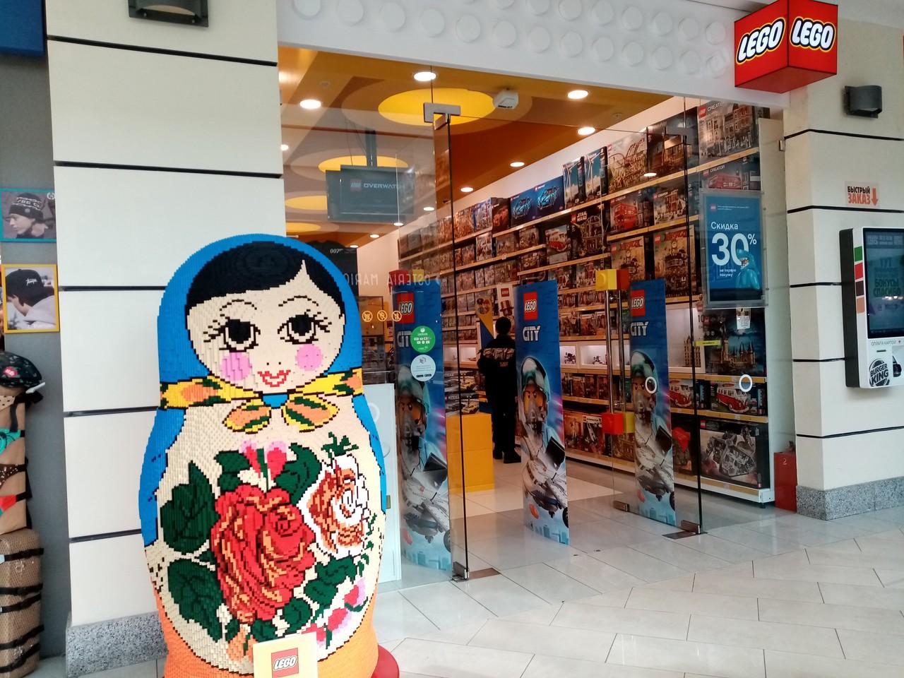 レゴで出来たおっきな マトリョーシカ