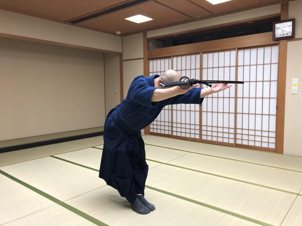 釈正輪老師、武道礼法&呼吸法開催