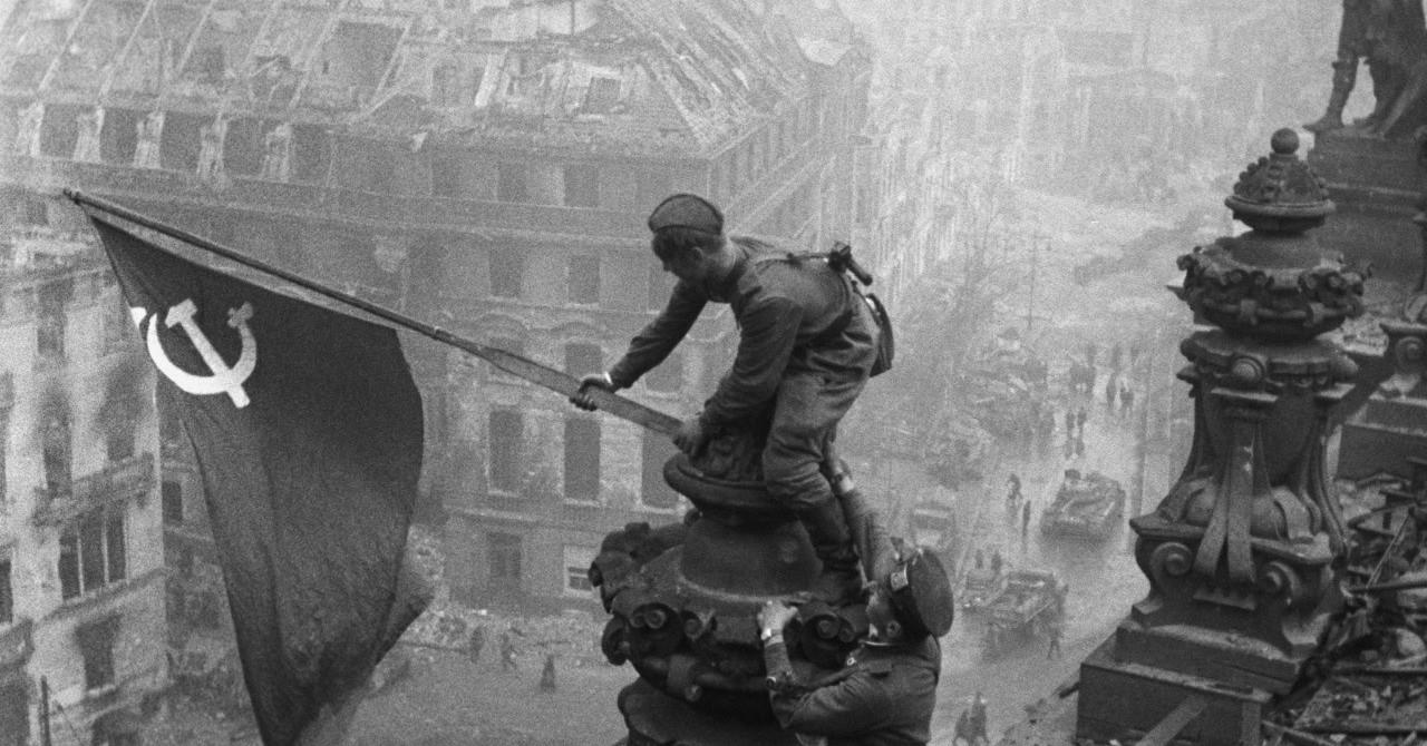 【沖縄戦:1945年4月25日】沖縄戦と独ソ戦─ソ連赤軍のベルリン突入と沖縄で宣伝されたナチスの苦境