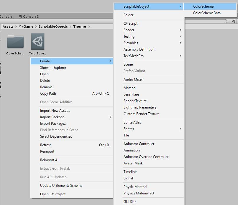 CDv2開発記録】ScriptableObject で配色管理|Lawillia(ラウィ