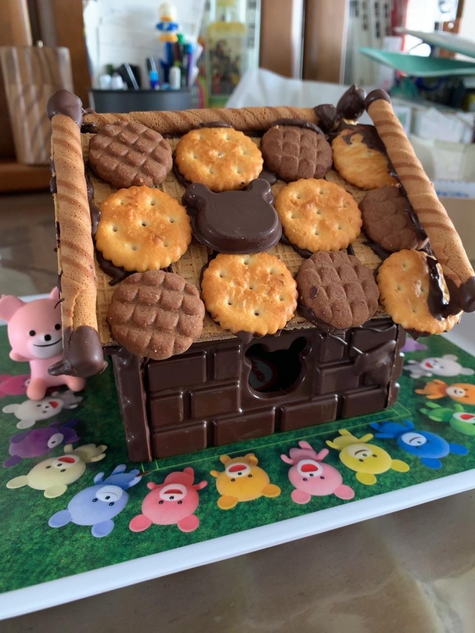#お菓子の家