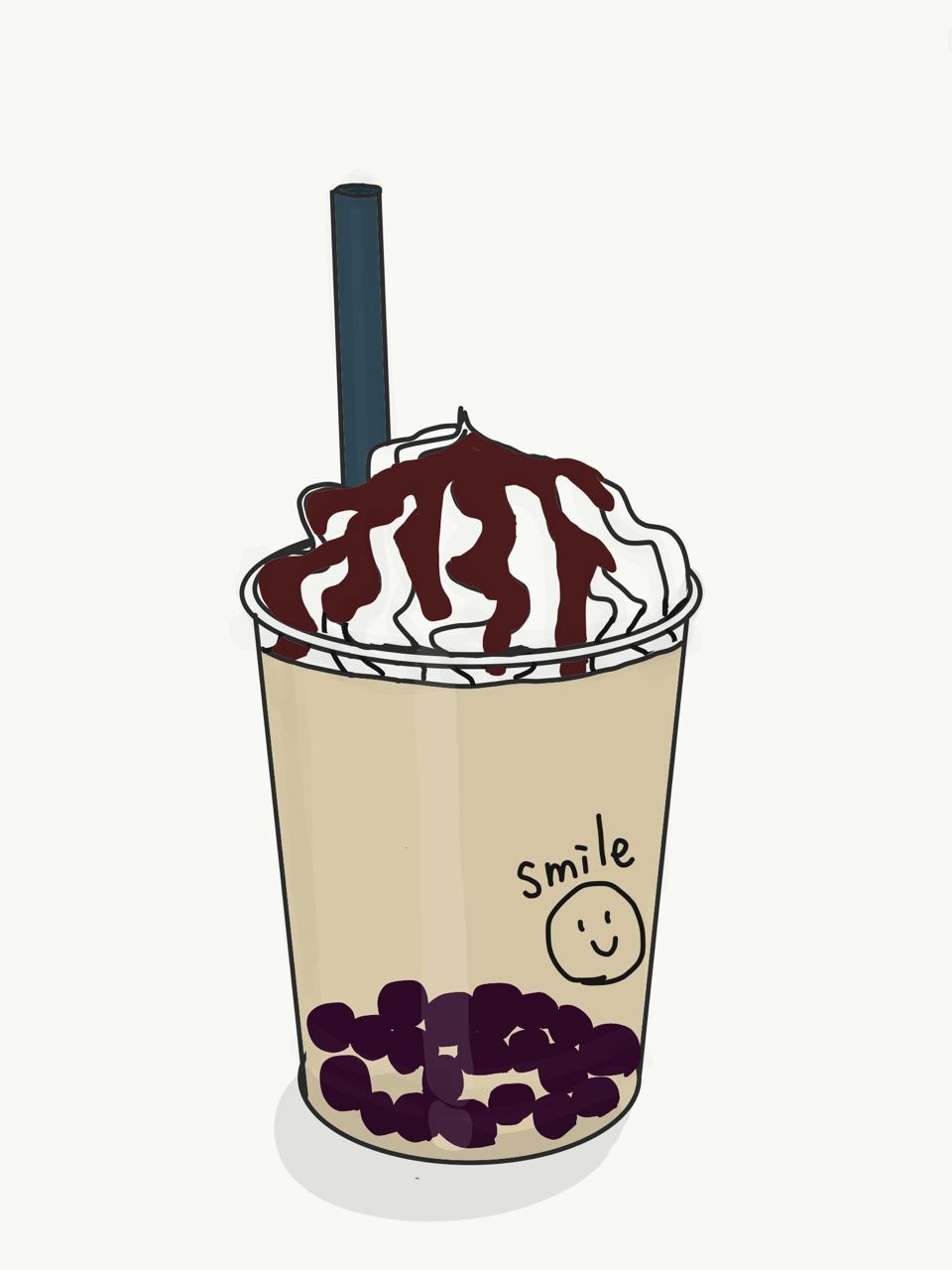 タピオカミルクティー飲みたい抹茶パフェnote