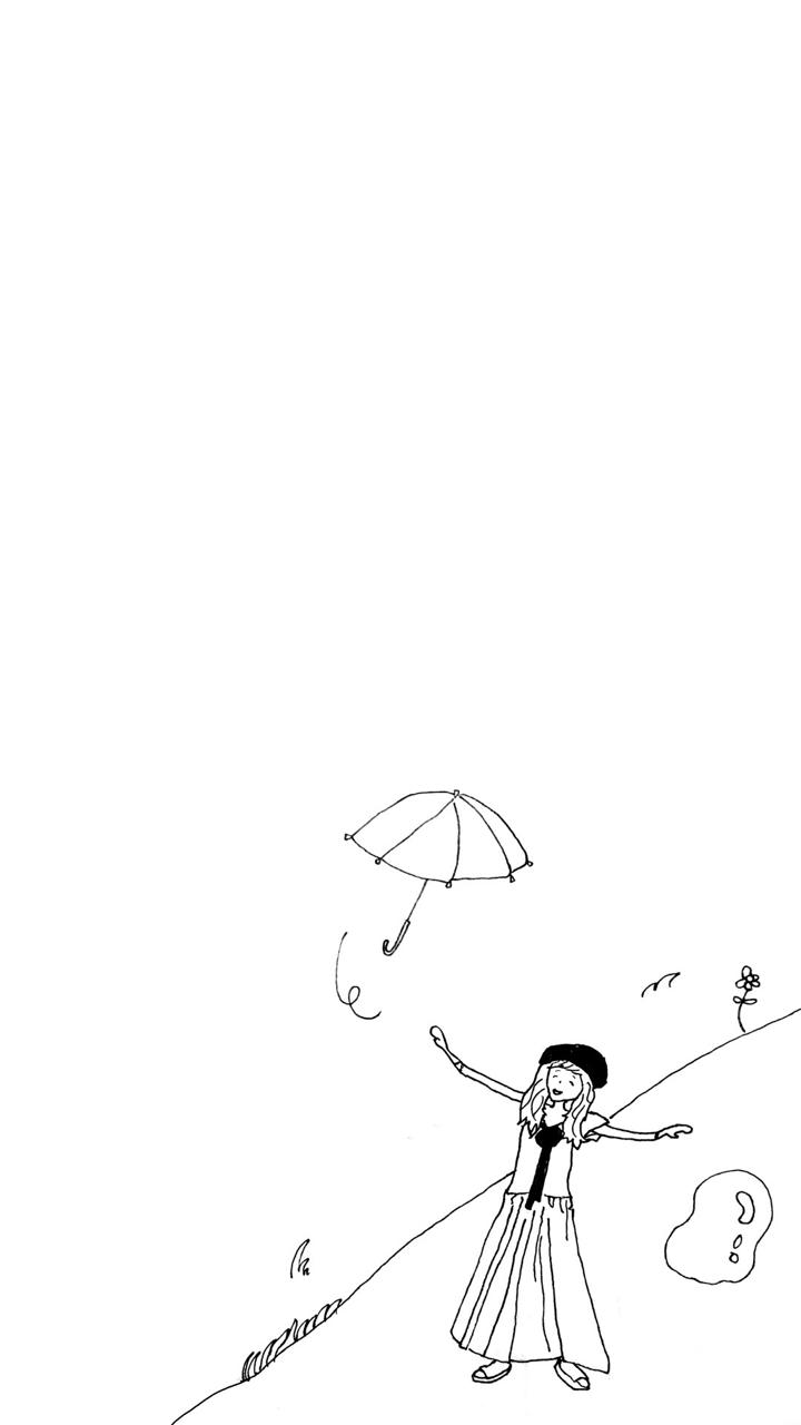 今月の壁紙 6月分 Kota Noguchi Rakugakiman Note