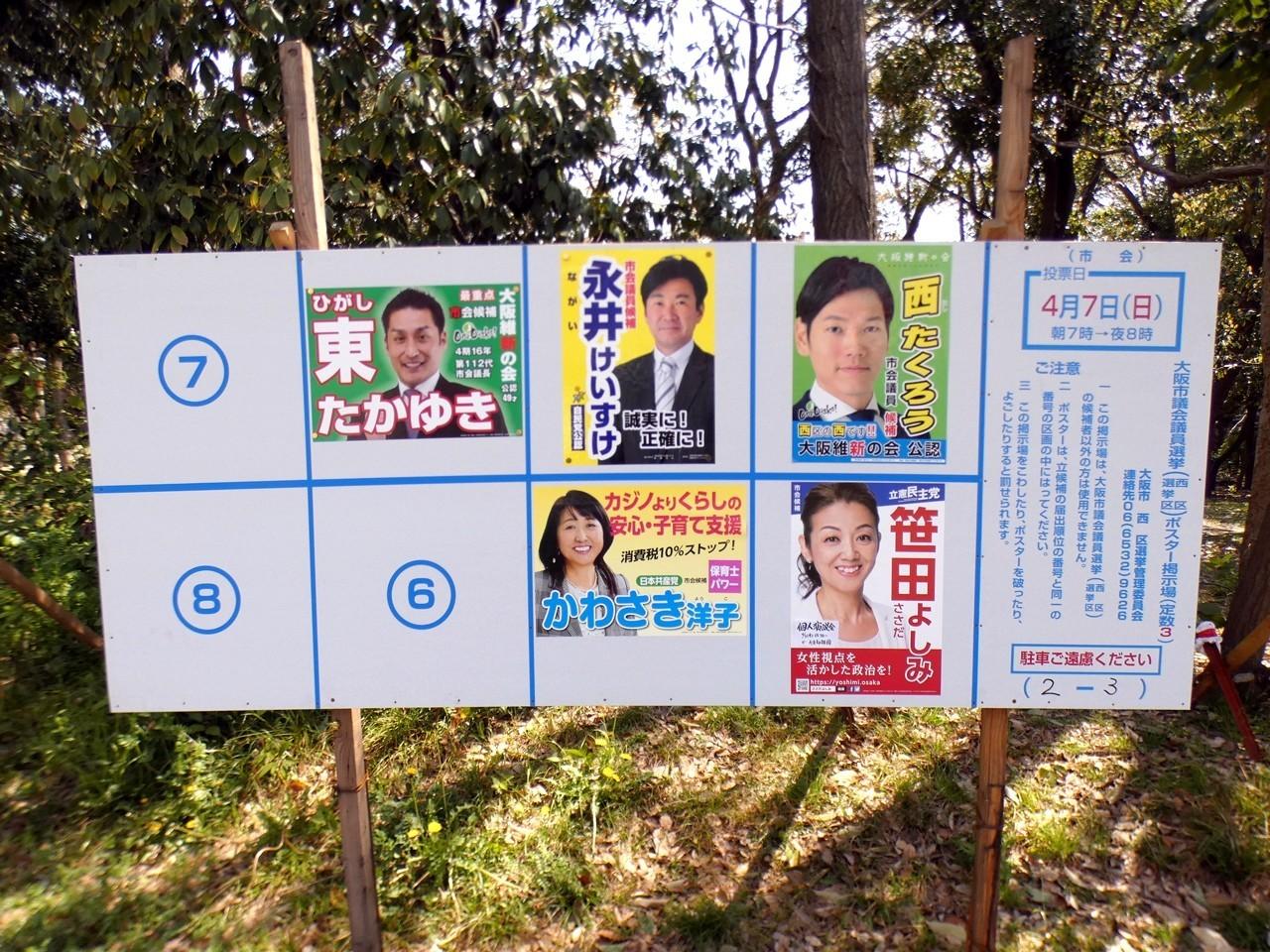 東 大阪 市 選挙 結果