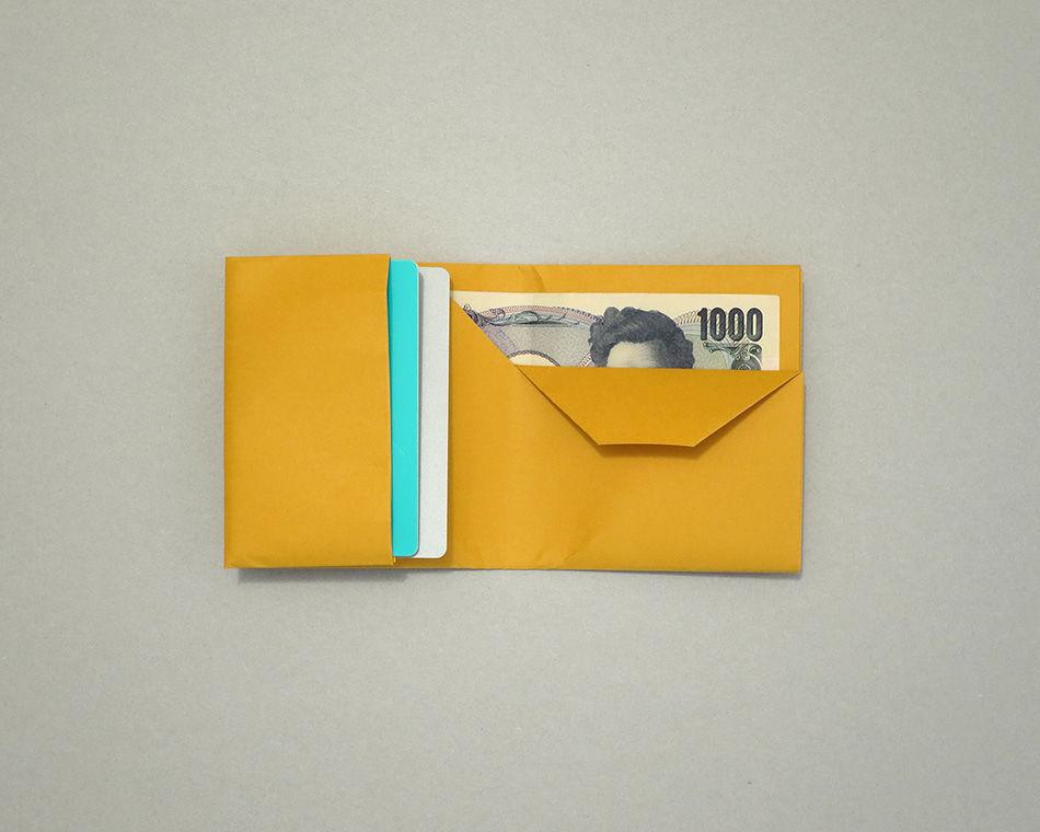 hot sale online d3d5c 0e592 紙の財布を山中和紙で作ってみた。 mktks   企み屋 note
