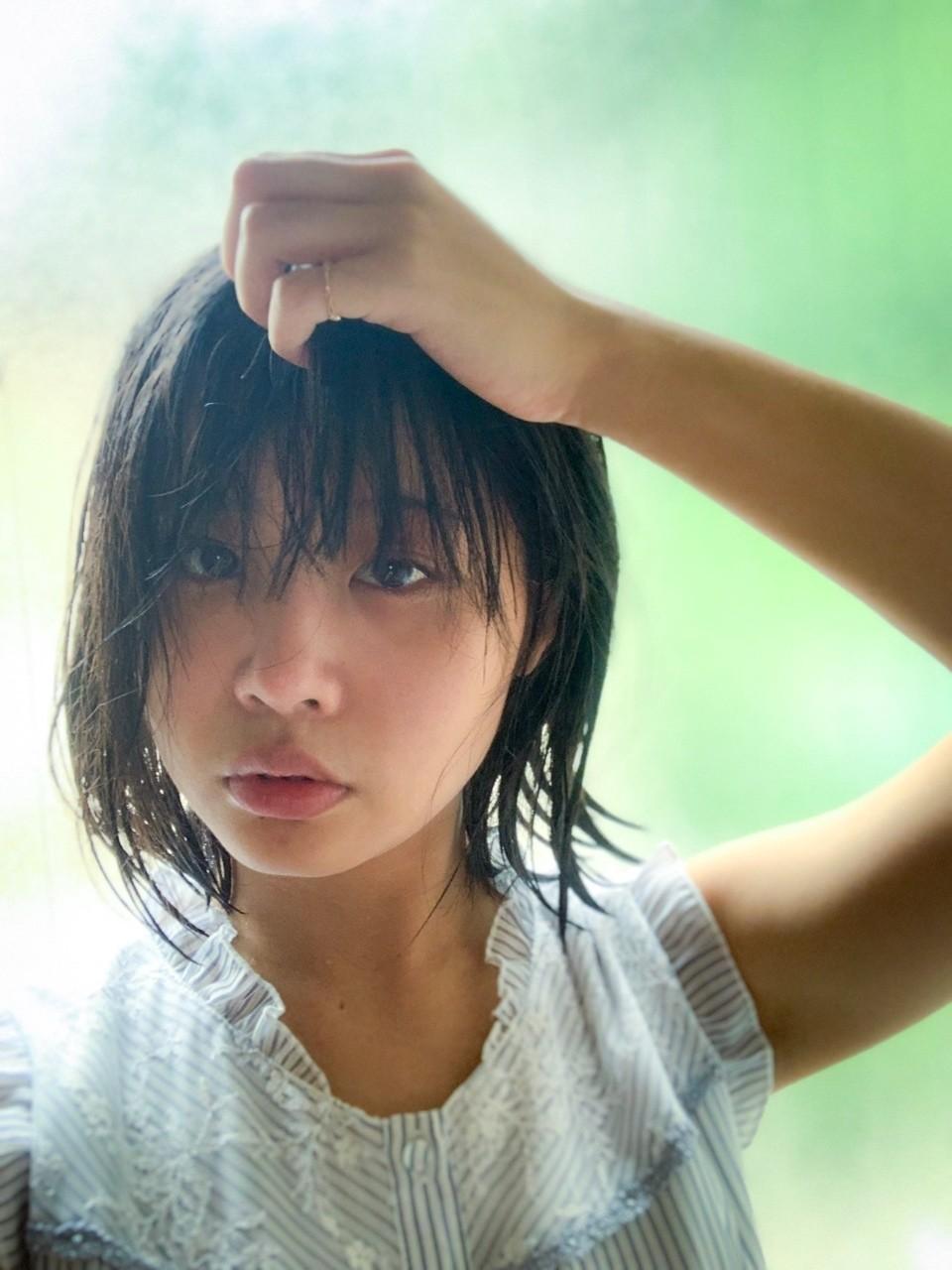 【夏に濡れ髪】