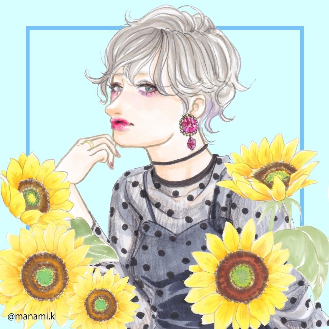 女性 おしゃれ 髪型 イラスト Khabarplanet Com