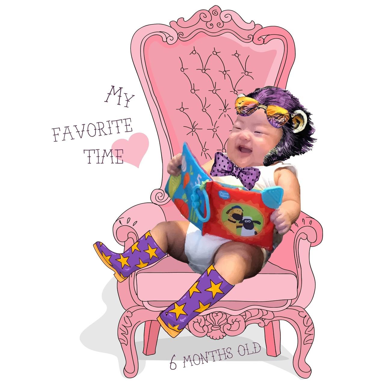 明日で生まれて6ヶ月。ここまで元気に生きてくれていること自体が嬉しい。日増しにやんちゃ坊主。スタンド使えそうです。  #son #baby #instababy #smile #kid #purple #pink #fashion #ootd #illustration #art #photo #graphic #jojo #赤ちゃん #笑顔 #紫 #ピンク #子供 #息子 #新生児 #0歳 #子育て #コーデ #ファッション #イラスト #アート #写真 #グラフィック #ジョジョの奇妙な冒険