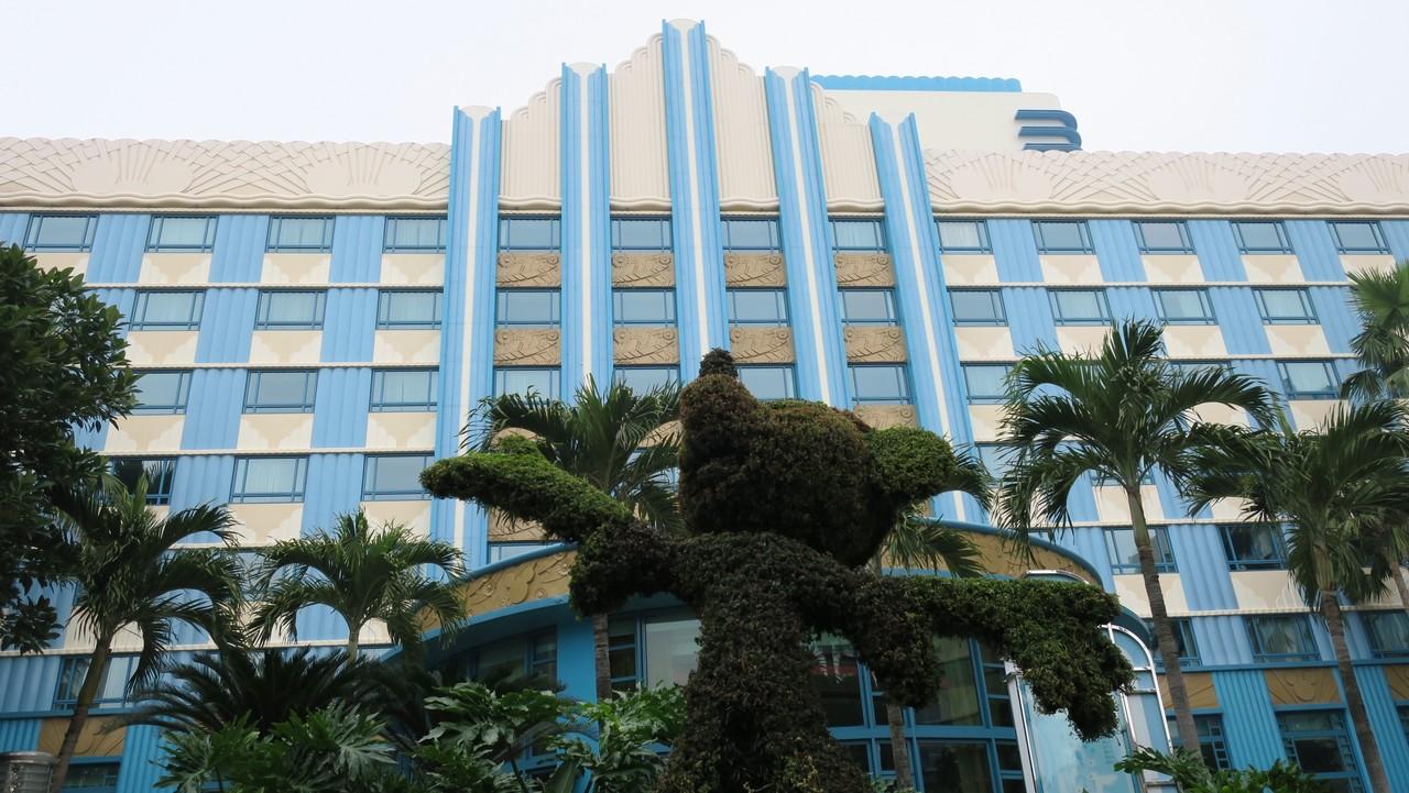 【海外ディズニー旅行記】Part5:満腹状態の腹ごなし?3つのホテルを散策(香港編  Day2)