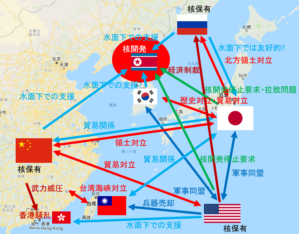 アジア情勢は複雑怪奇|SummerShower|note