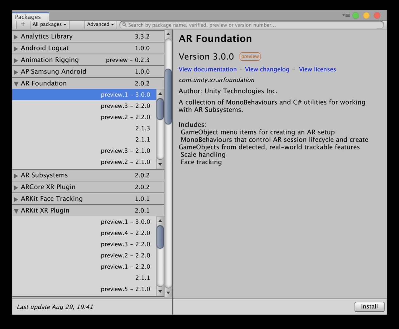 UnityではじめるARプログラミング / AR Foundation 3 0|npaka|note