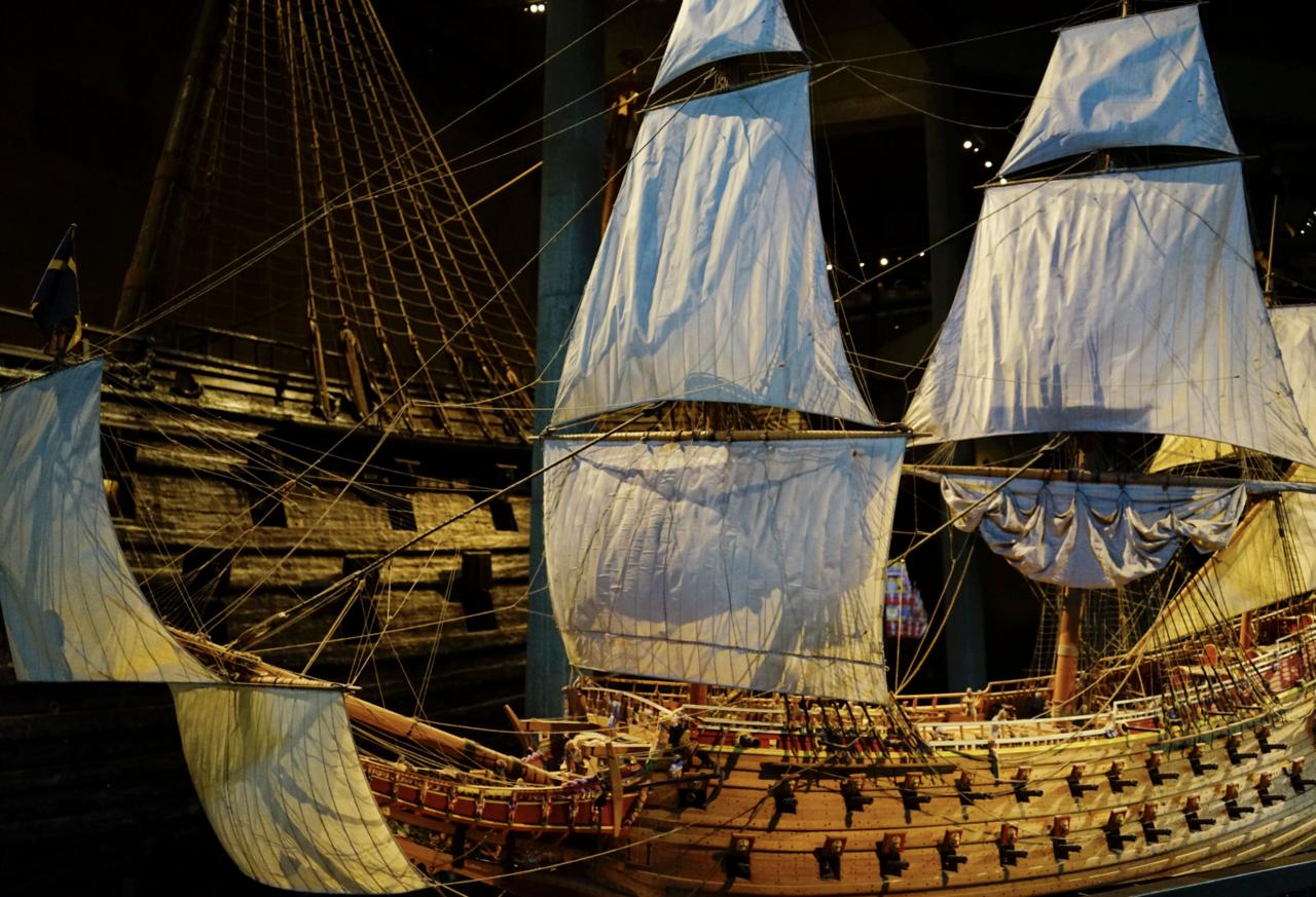 17世紀の大戦艦を丸ごと展示 ヴァーサ号博物館 【スウェーデン】|Shun ...