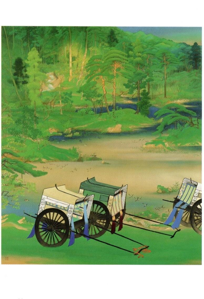 「山口蓬春 緑庭」の画像検索結果
