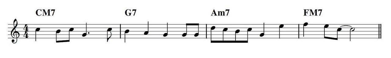 メロディ譜1
