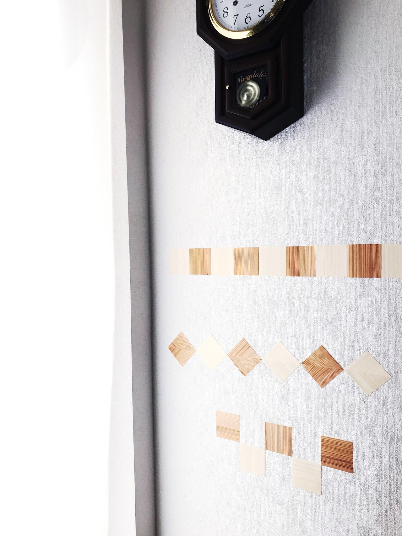 お家で簡単diy 木の壁紙が新発売 木の紙ショップ Note
