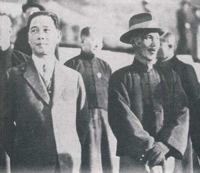 汪兆銘と蒋介石