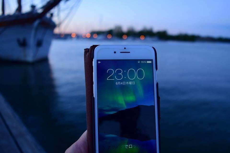 夏のフィンランドといえば白夜です。