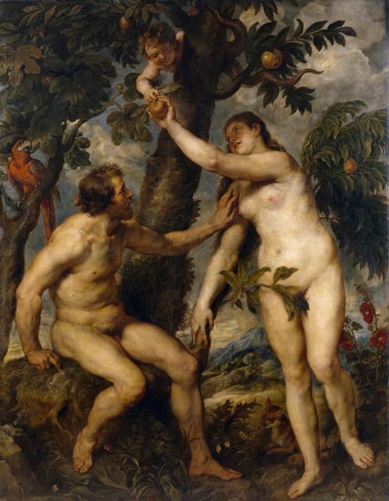 アダム と イブ 葉っぱ