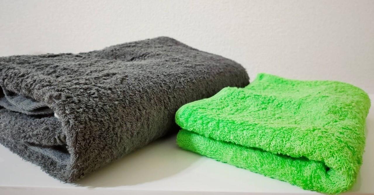 【ラミーコットンタオル長期使用レビュー】ミニマリストが高級なタオルを使い始めて感じたこと