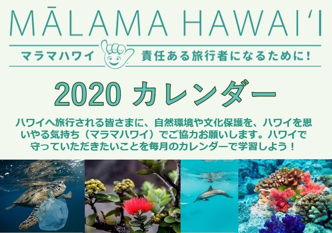 ハワイ州観光局メルマガ 2020 1 ハワイ州観光局 Note