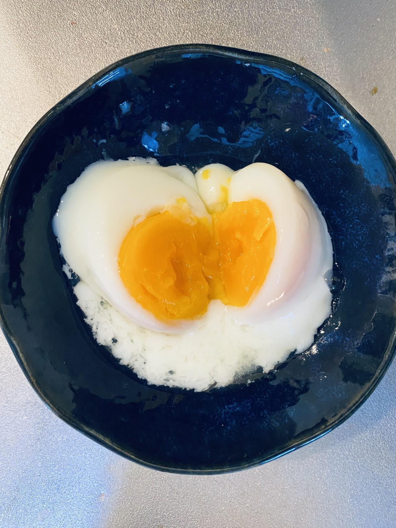 ホット クック 温泉 卵