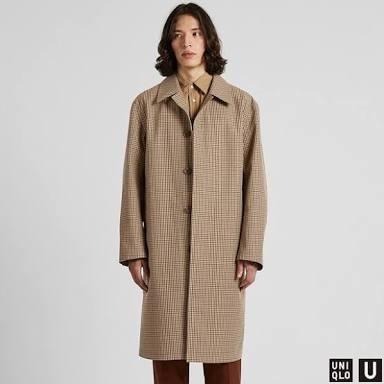 ユニクロ カシミヤ コート メンズ