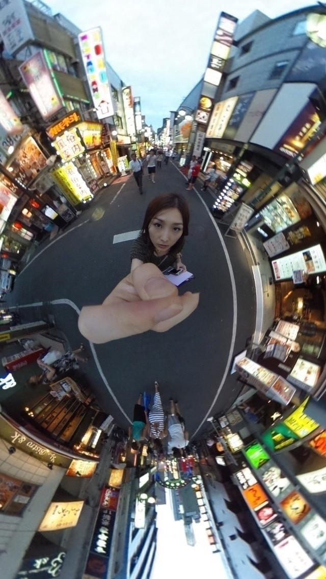 (  RICOH THETA 360°全天球イメージ撮影デバイス http://amzn.to/1J9SoEz を使用)
