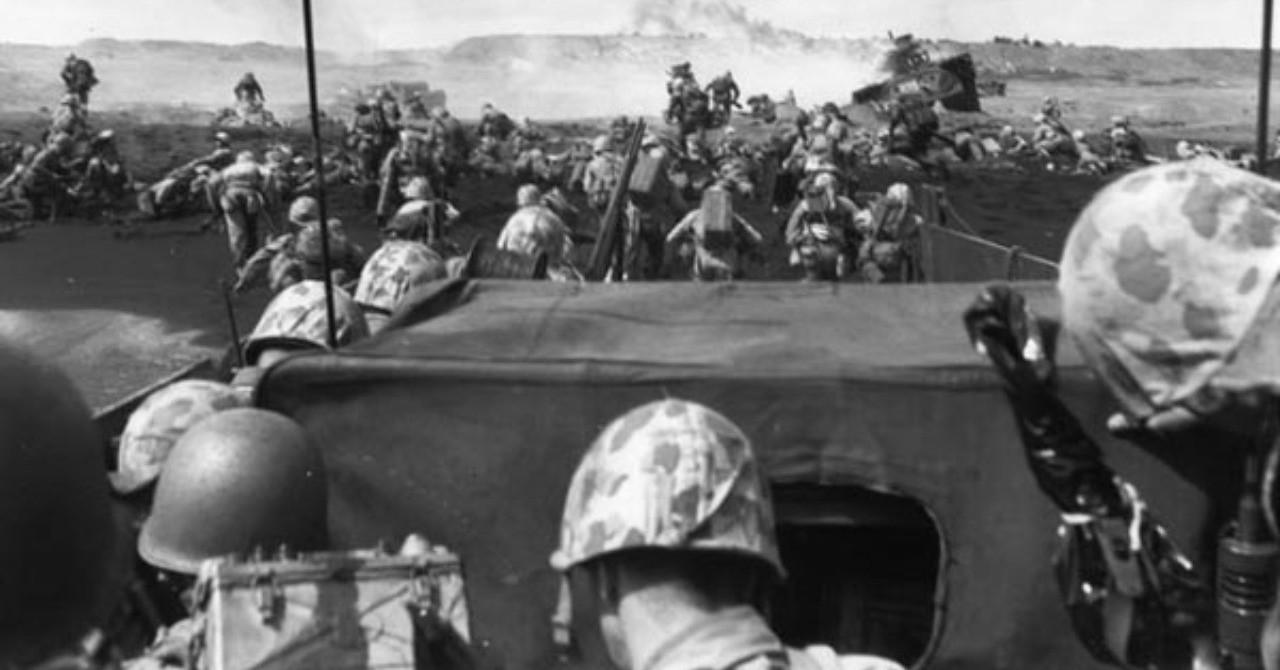 【沖縄戦:1945年2月18日】硫黄島への艦砲射撃つづく 硫黄島を包囲する米艦隊への航空攻撃