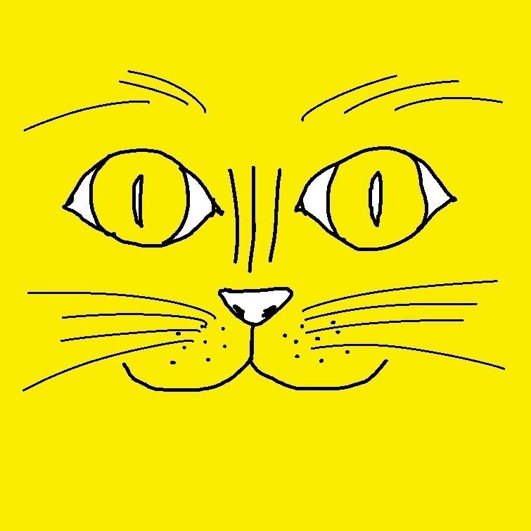 最近黄色率が高すぎる。別に黄色が特段好きというわけではない。でも気が付けば、今日は黄色のカーディガンを着ている。それはさておき、猫が好きだ。大好きだ。それを差し置いていま一番気がかりなのは、塗り薬を塗ってあまり丁寧に洗っていない手で、干しいたけを洗って水に戻してしまったことだ。戻し汁に塗り薬が溶けていないか、でもいま水を替えればしいたけエキスがなかったことになってしまう。だから替えられない。そればかり考えてしまうので、気を紛らわす為に私は黄色の猫を描いたのだ。結果気は紛れなかった。