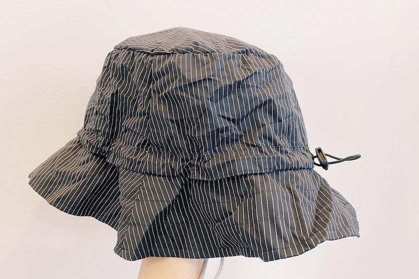 帽子のシワ