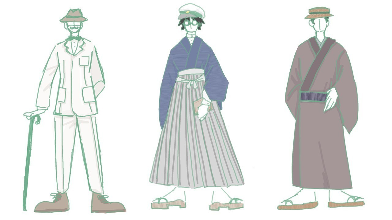 服装 大正 時代 大正時代の流れと服装・生活・食事を解説