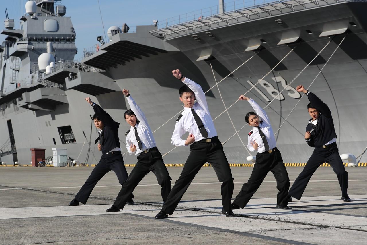 あなたは「海上自衛隊体操」を知っていますか?|マガジンハウス書籍部