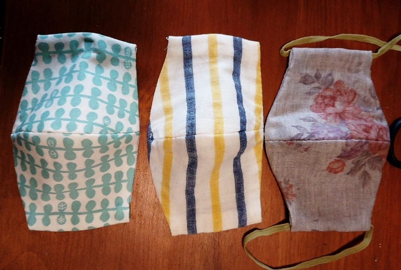 作り方 手縫い マスク 布