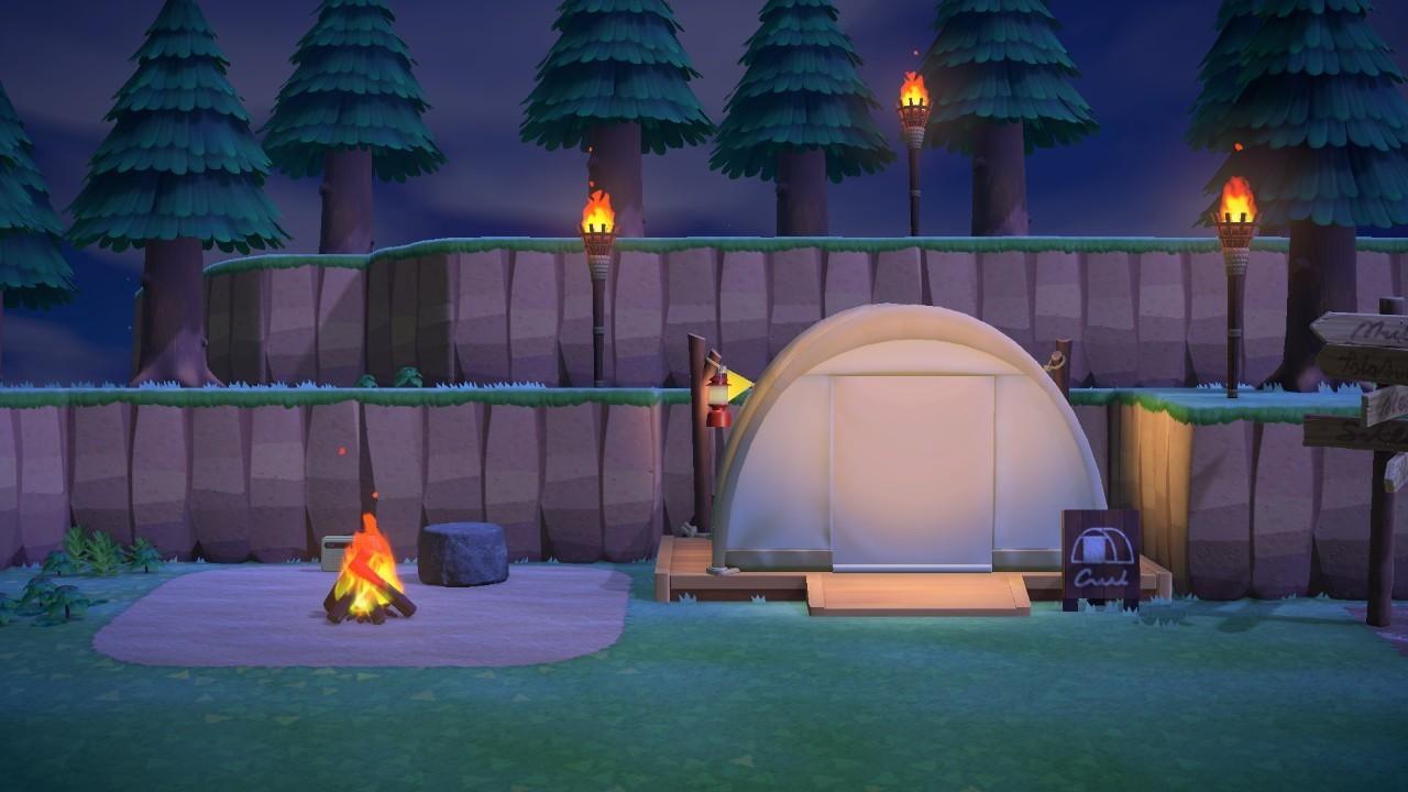 キャンプ あ サイト つもり