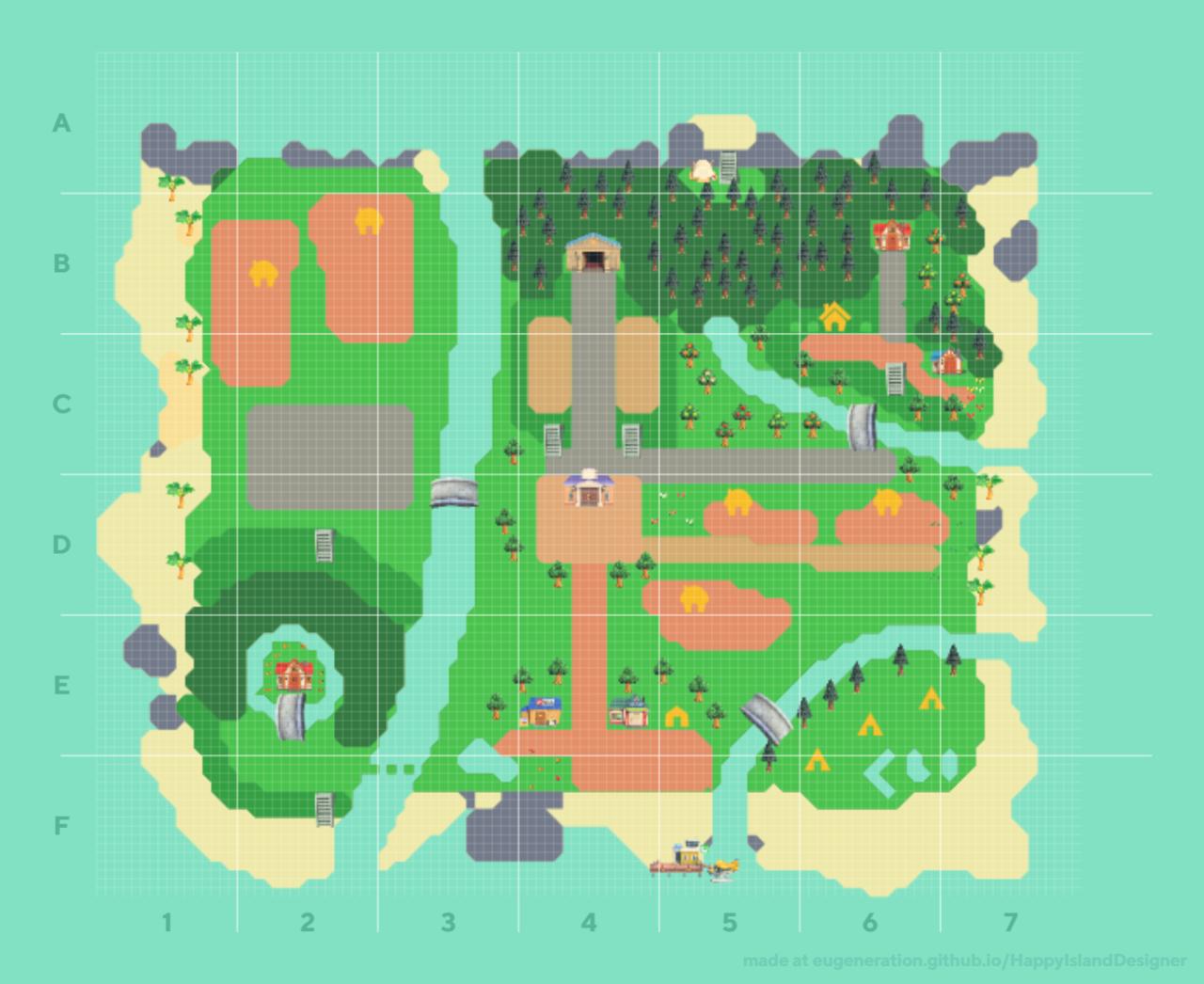 ハッピーアイランドデザイナー 自分の島