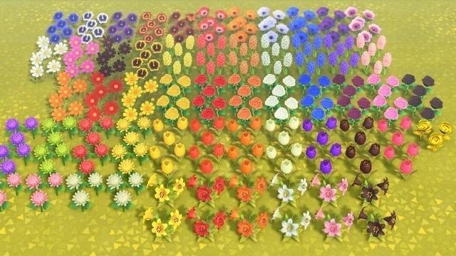 あつ 森 花