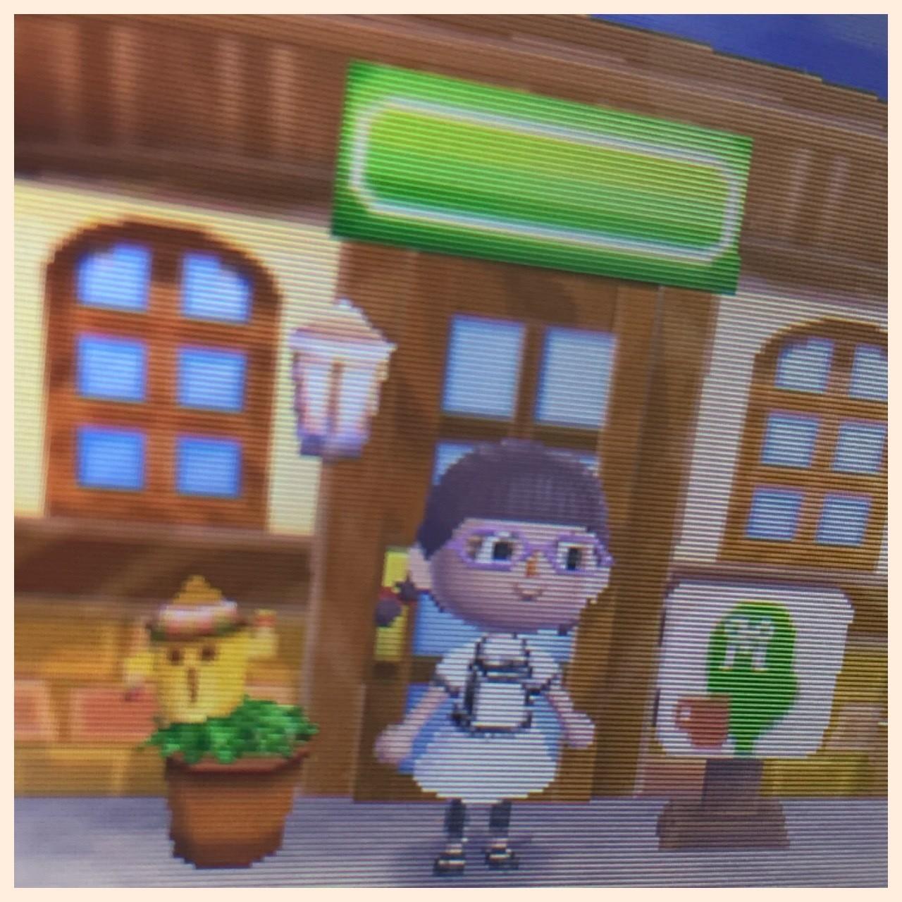 とび 森 喫茶店