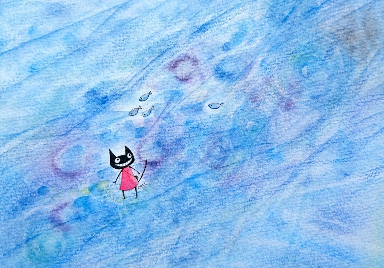 ゆらきら ゆらきら 海の底  Dear いばらきしゅふさま