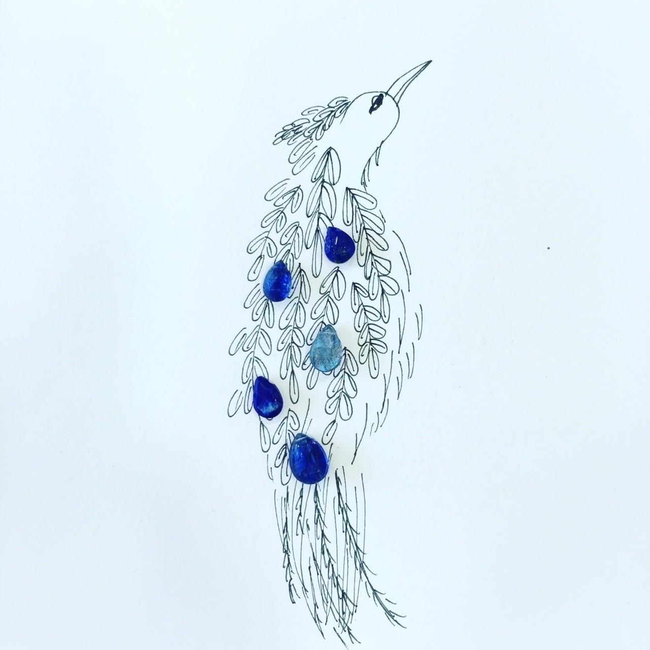 宝石あそび鶴丸のどかイラストnote