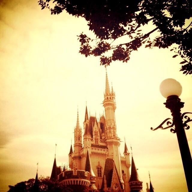 シンデレラ城♡