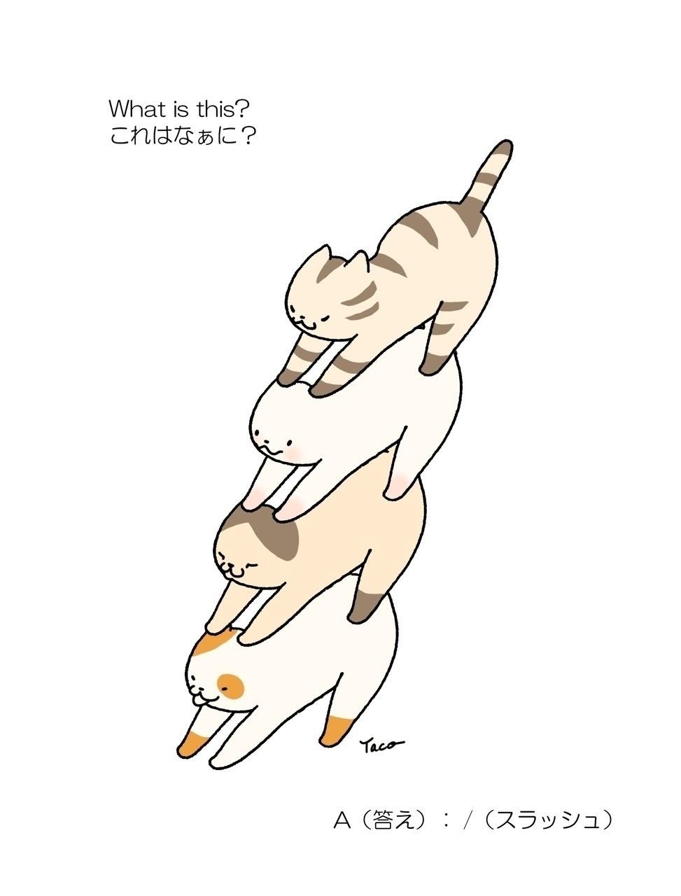 「いつか、あいうえお絵本のように、こんな本ができたりして」 #絵本 #猫 #漫画 #cat