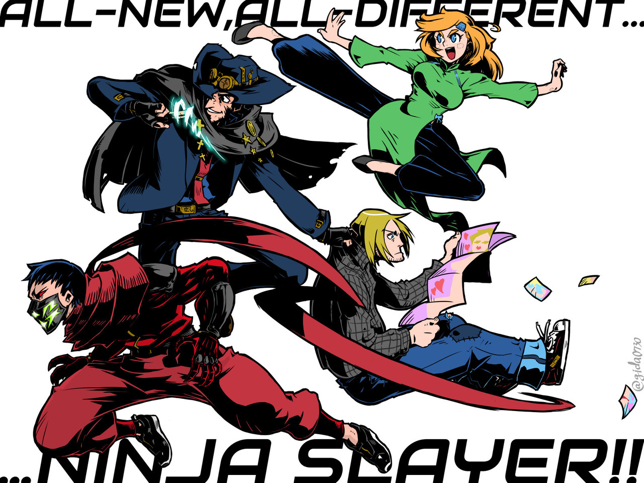 All New All Different ぎだ Gida0730 Note