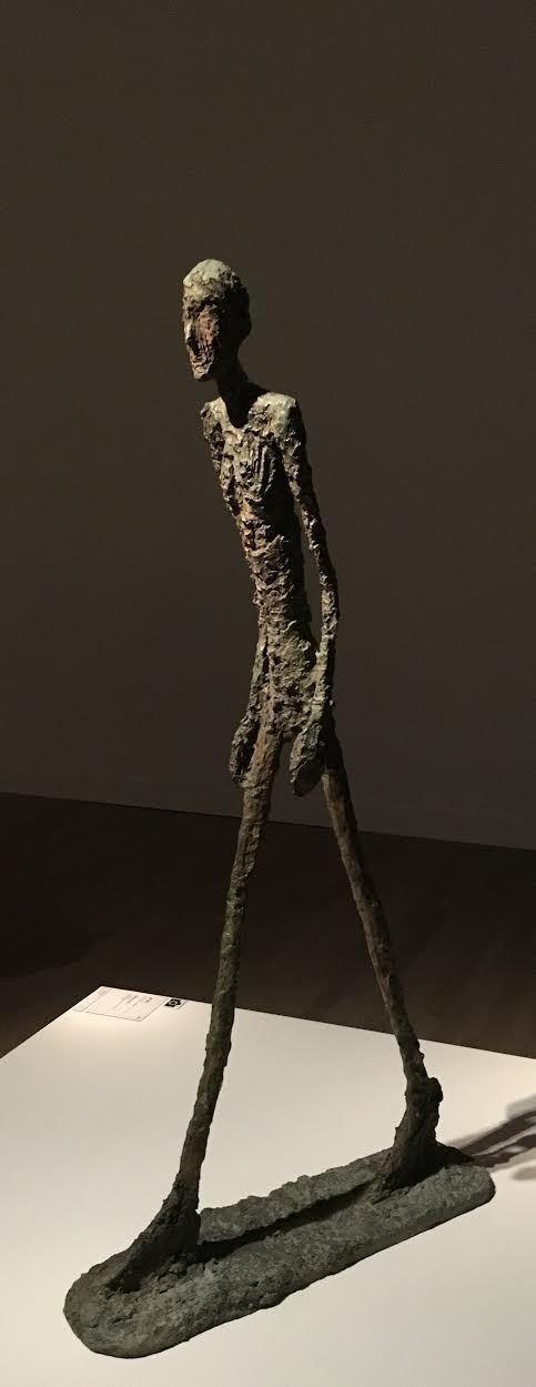 ジャコメッティ展』 ―彫刻家は次元を遡る― 寺本郁夫 note