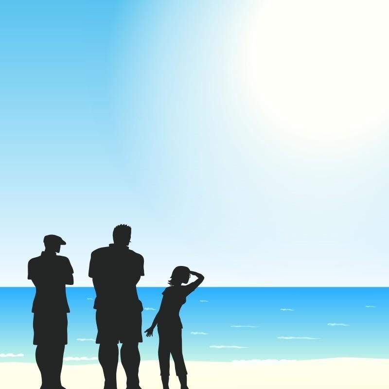 海と探偵_
