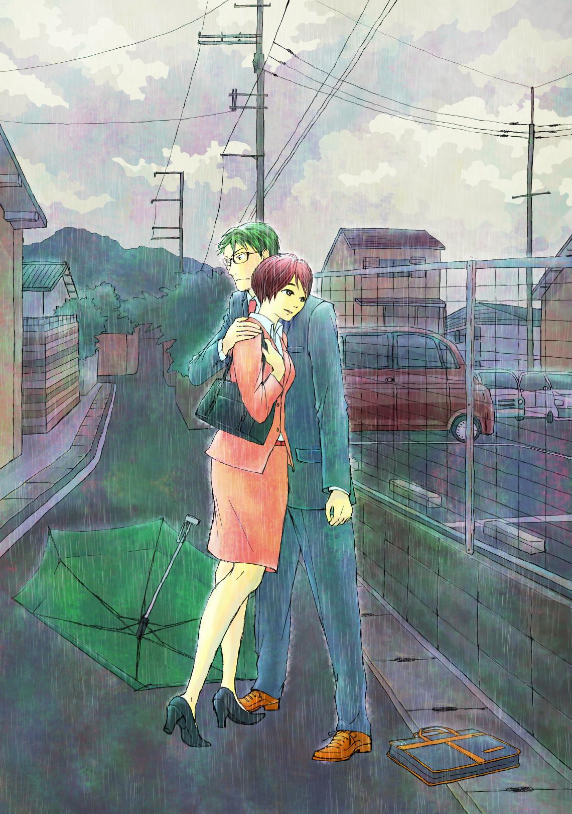私がスキなのは、優しく降る霧雨のような人。あなたは、雨に似ている。