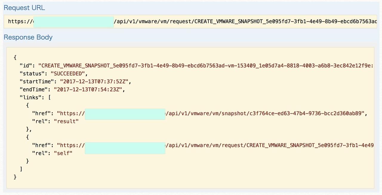 REST APIを使ってみよう:VMware仮想マシン編|Rubrik クラウド