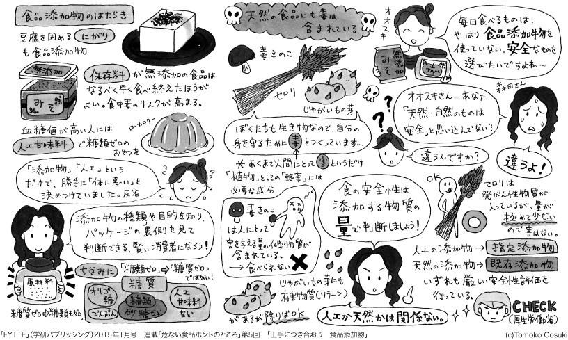 【危ない食品ホントのところ⑤】上手につき合おう 食品添加物 http://fytte.jp/feature/series/1507/post_3.php